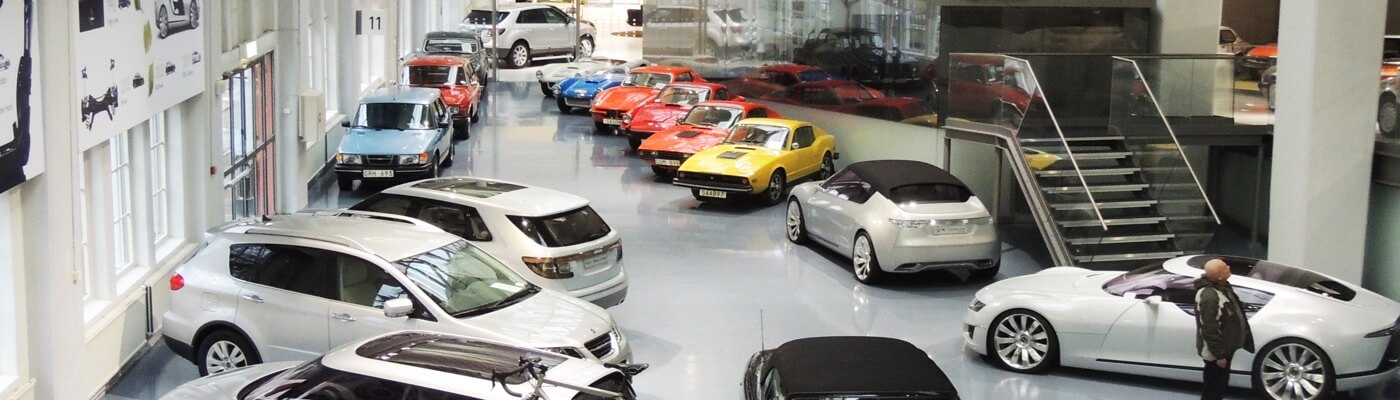 Saab Car Museum, Sweden